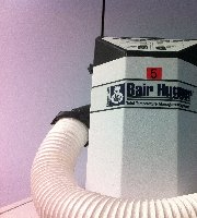 augustine medical inc the bair hugger patient warming system The bair hugger is a medical device developed to keep patients warm  blanket  is disposable, the heater and forced-air system is designed for reuse bair   augustine medical – changing its name to arizant (3m company.