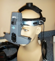 Used Keeler, All Pupil II, Binocular Indirect Ophthalmoscope for