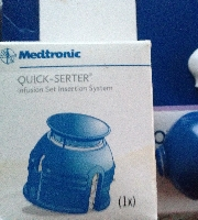 Used Medtronic, Minilink REAL-Time Transmitter , Insulin Pump for