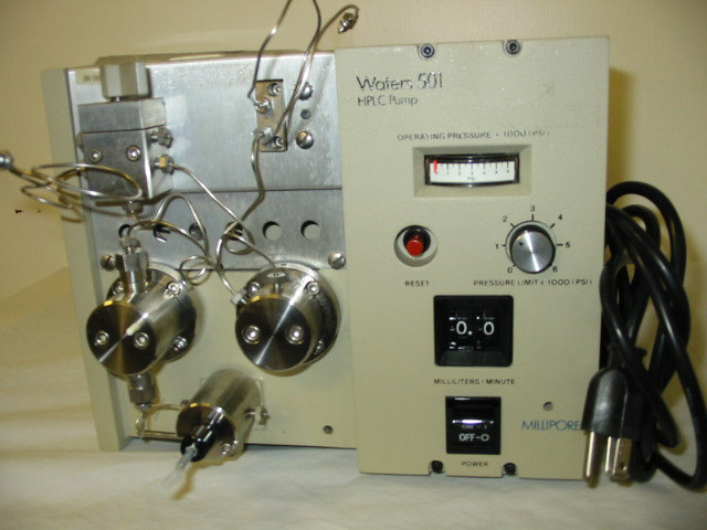Waters 501 Pump HPLC Subsystems, Accessories and Parts
