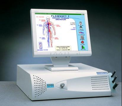 Ultrasonic Blood Flow Detector