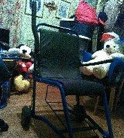 Manual Wheelchair Medical Chair - MedWOW ... & Used STAXI Medical Chair Manual Wheelchair for Sale - 685378688