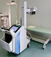 Mobile X-ray Optima XR200amx - MedWOW